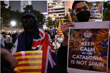 20191025香港とカトロニア