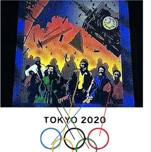 20200218銀座和光地Tokyo Olympicbis