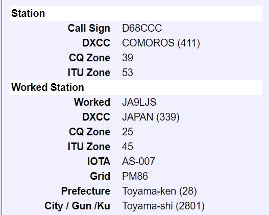 D68CCC LoTW