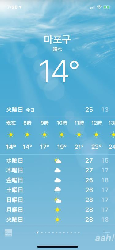 いきなりの気温の下がり具合は今年も健在w