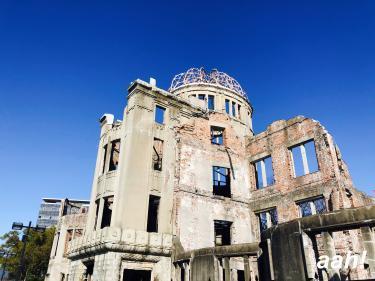負の遺産、原爆ドームを目の前にして思うこと。