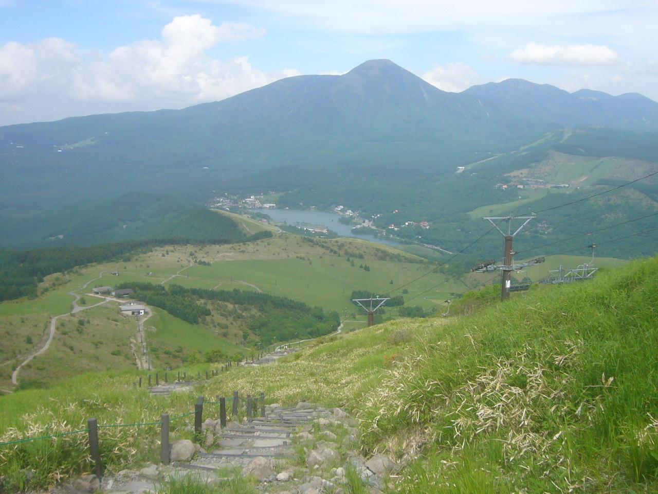 車山より白樺湖 R1.6.26