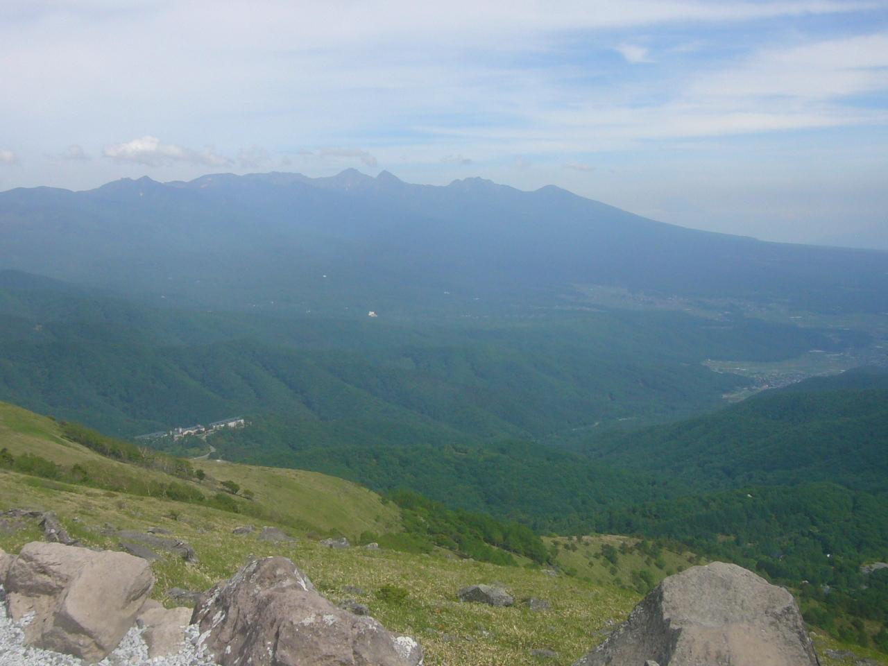 車山より八ヶ岳 R1.6.26