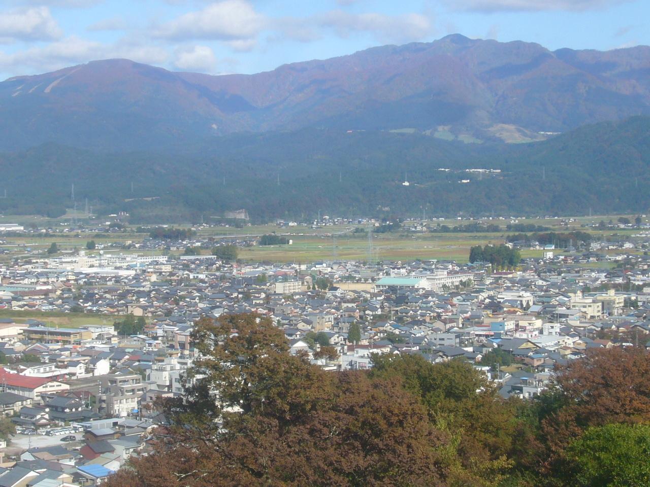 大野城から経ヶ岳、法恩寺山 R1.11.04