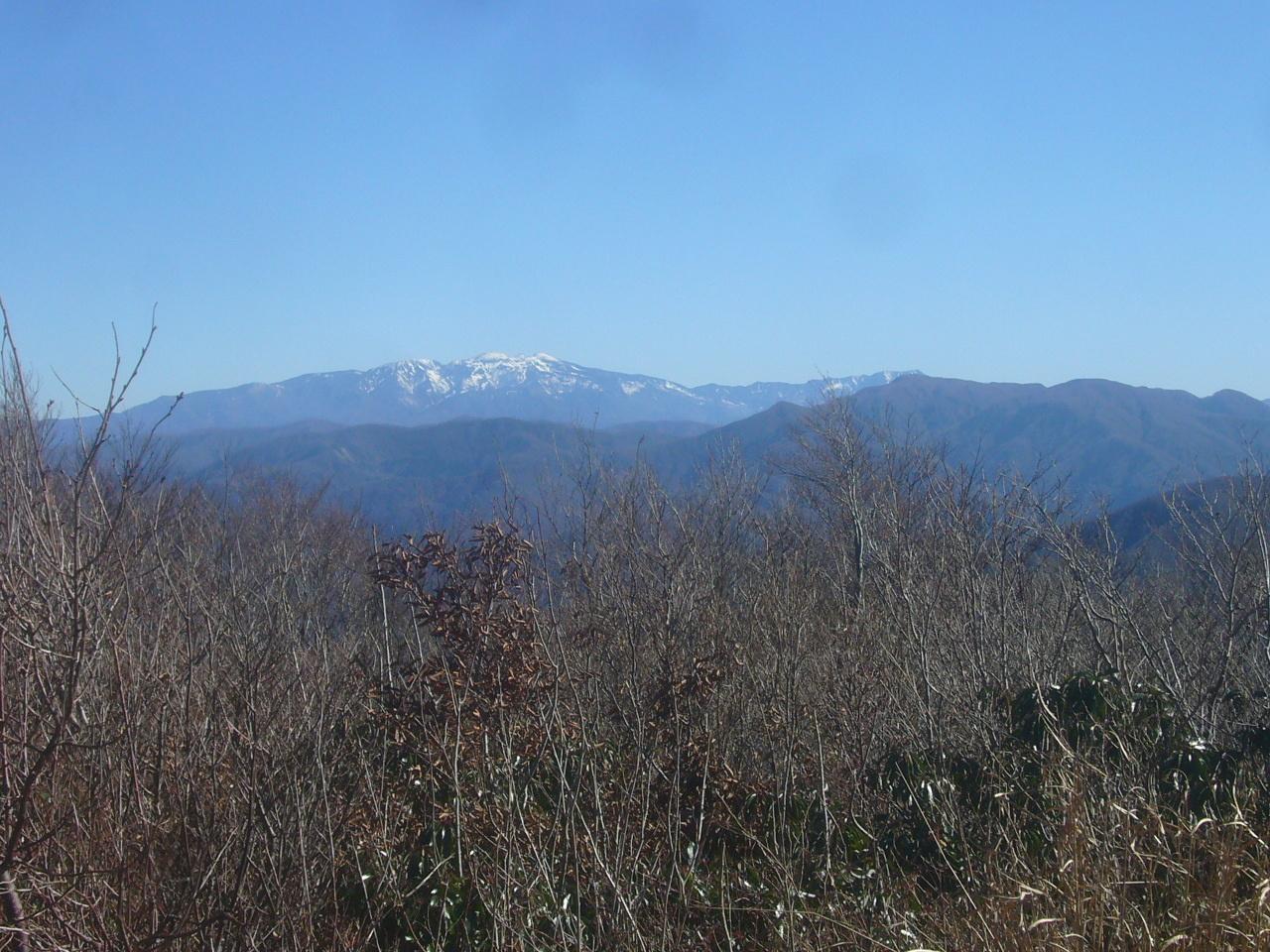 新雪の白山 R1.11.23