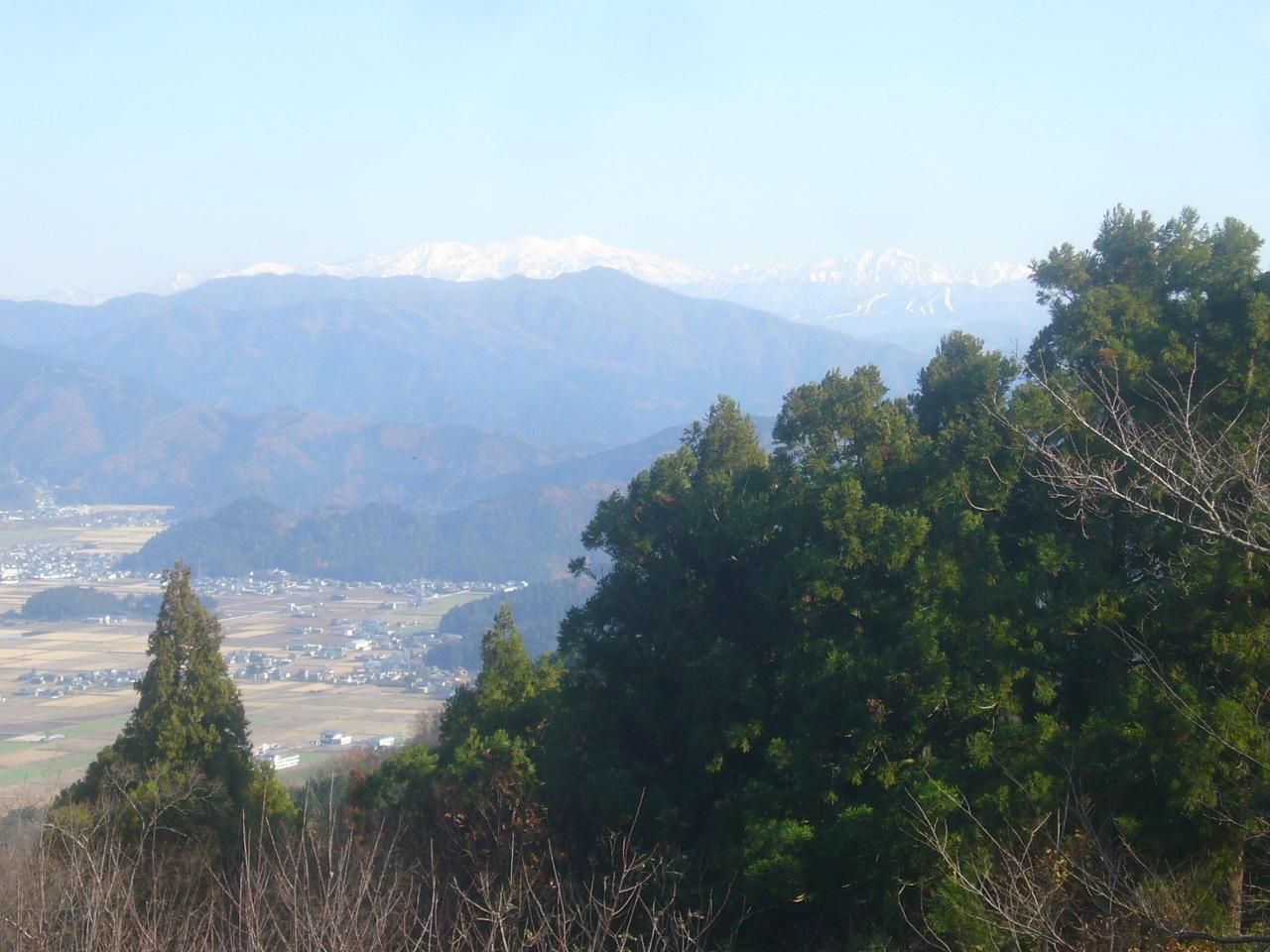 大文殊から白山連峰 R1.12.10