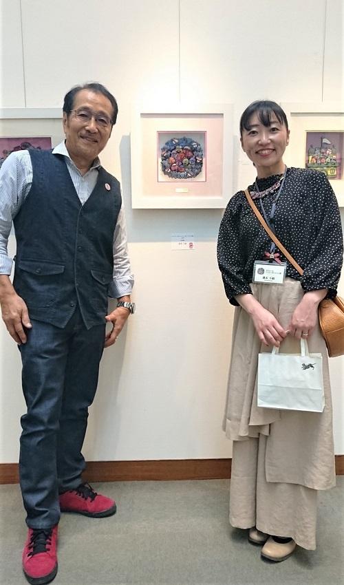 有賀忍先生と「こんなこいるかなの世界」