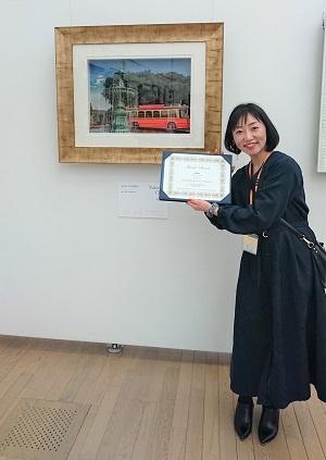 湯本千絵 シャドーボックス・ラ・マーニ特別賞 第8回シャドーボックス展