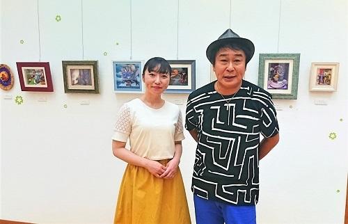 アエリーのシャドーボックス工房作品展 田村映二先生と一緒に