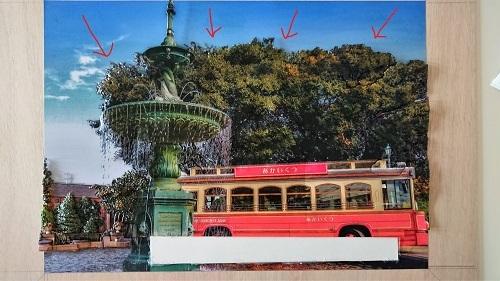 湯本千絵 シャドーボックス 第8回シャドーボックス展出展作品 港の見える丘公園噴水