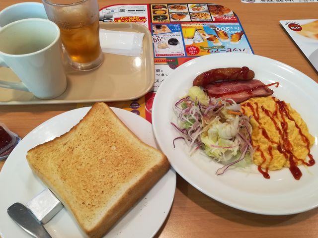 すかいらーく朝食