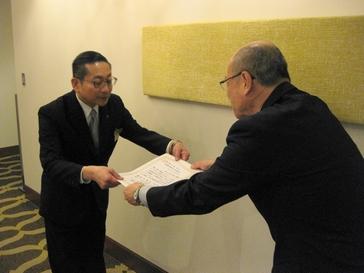 株式会社阪急阪神ホテルズ ホテル阪神大阪様、ホテル阪神アネックス大阪様並びに阪急阪神ホールディングス株式会社様からご寄付をいただきました
