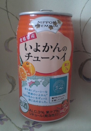 NIPPON PREMIUM「愛媛県産いよかんのチューハイ」