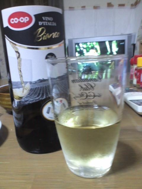 CO-OP「VINO D'ITALIA Bianco(コープイタリアのワイン 白)」