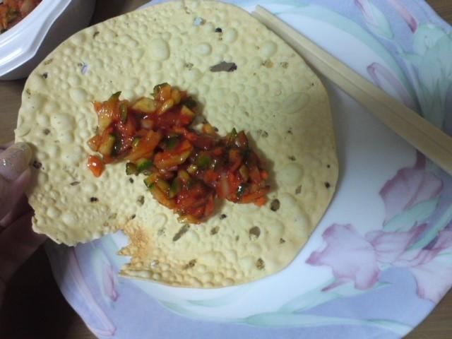 インドネパール料理ミトチャ マサラパパド