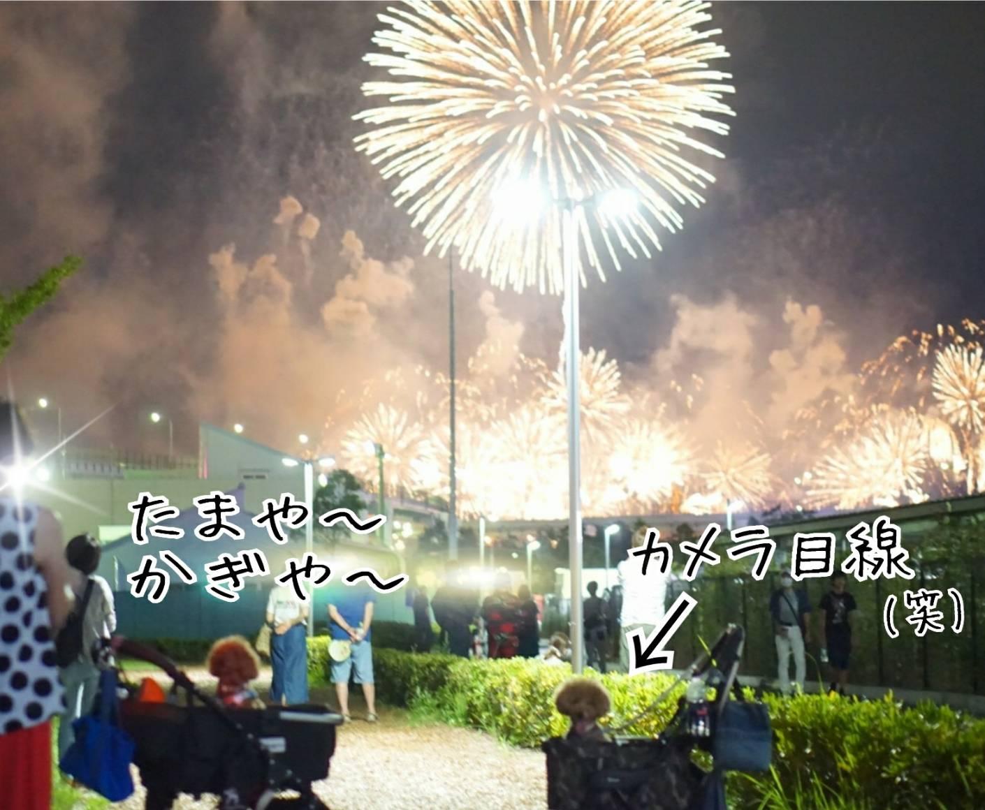 2019花火大会の帰り道11