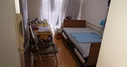 片付けた後の兄の部屋