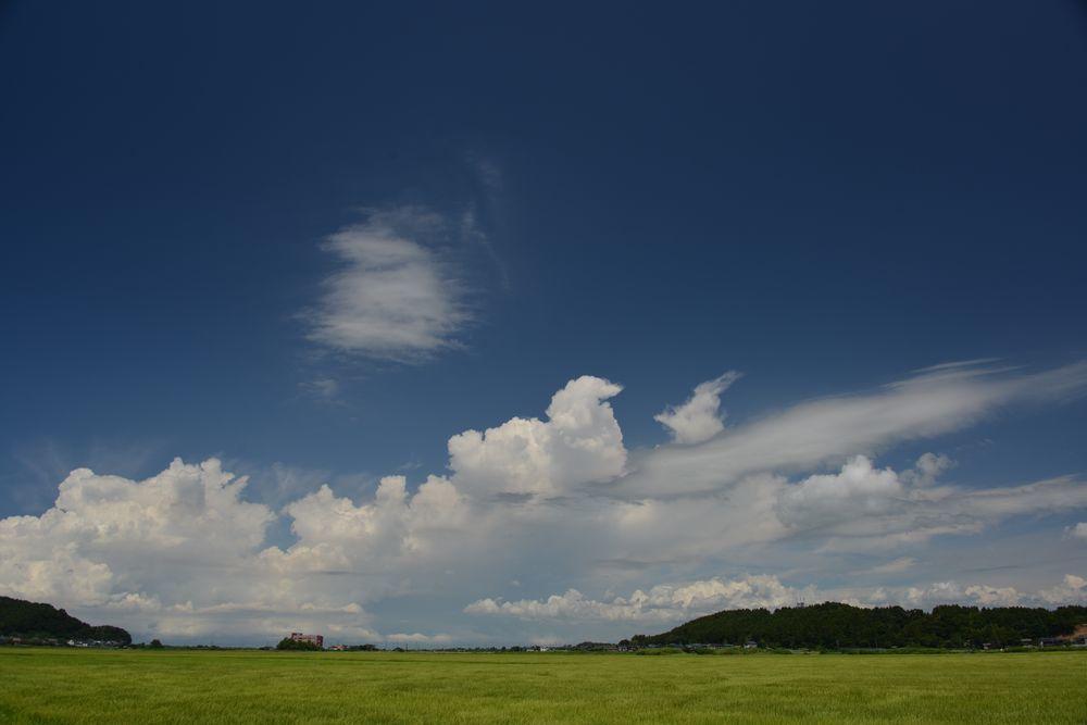 夏の雲-1