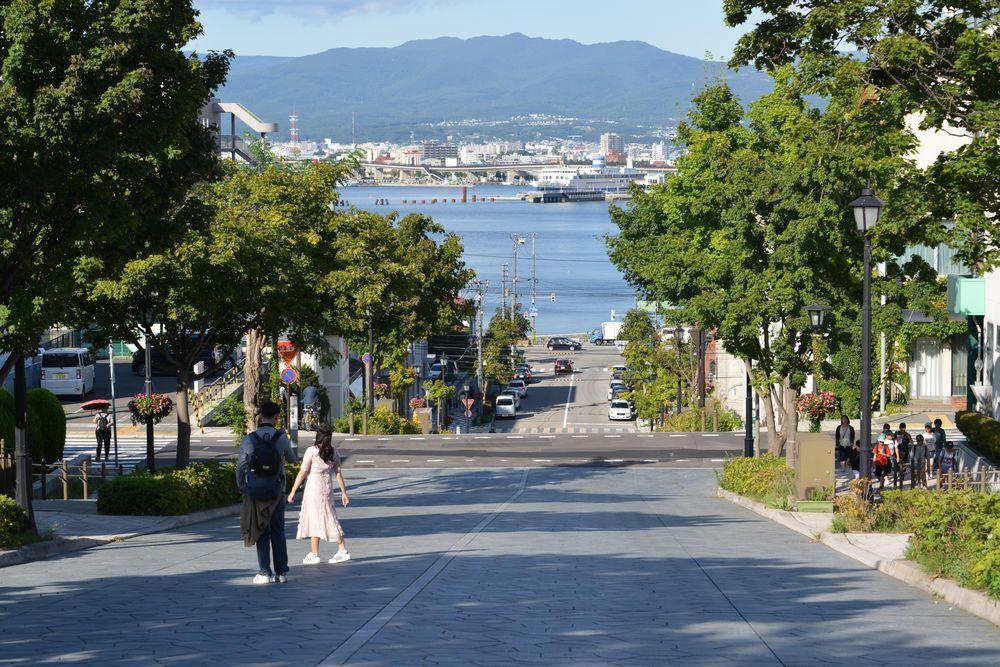 函館 坂の街-3