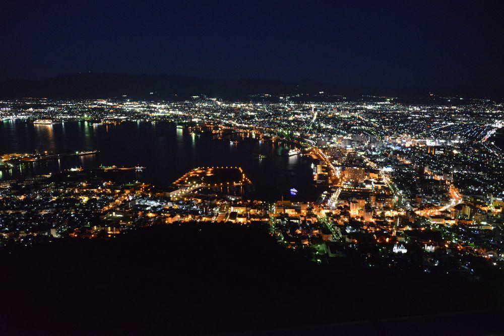 函館山の夜景-3