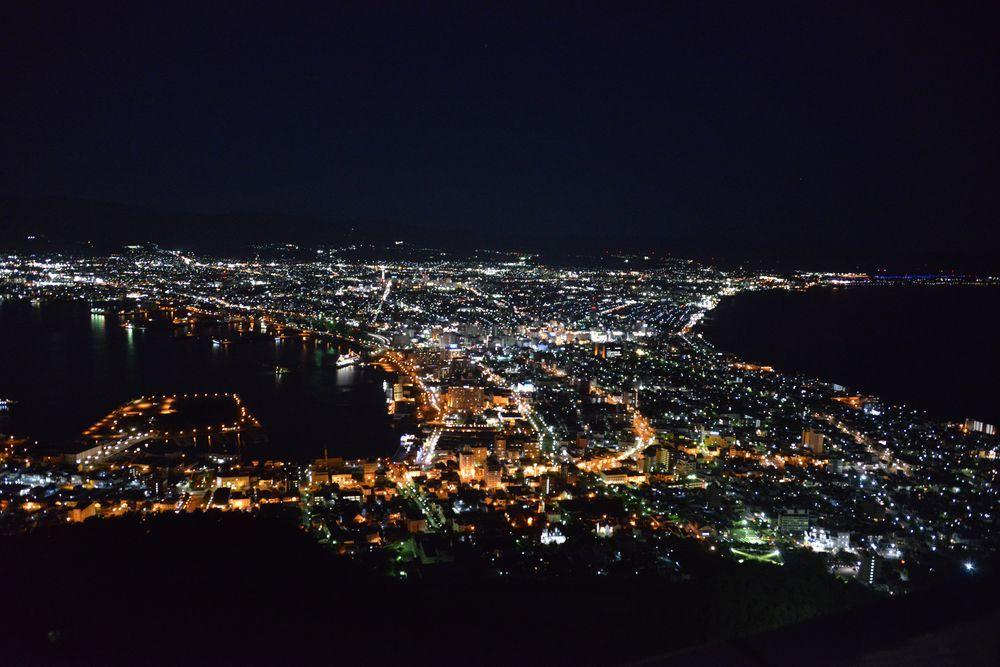 函館山の夜景-4