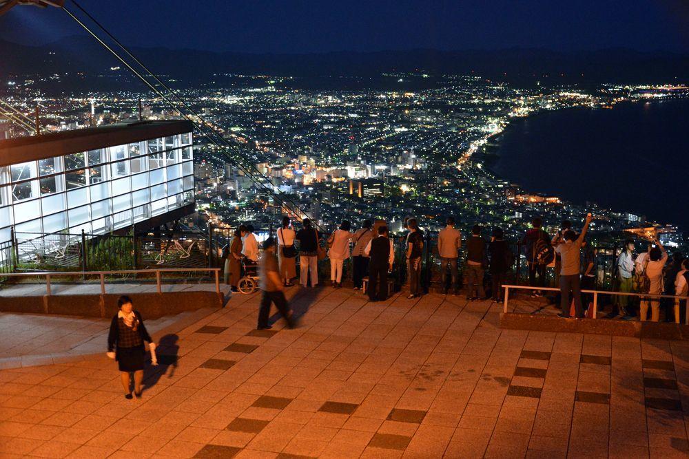 函館山の夜景-5