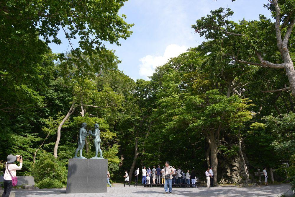 十和田湖 乙女の像-5