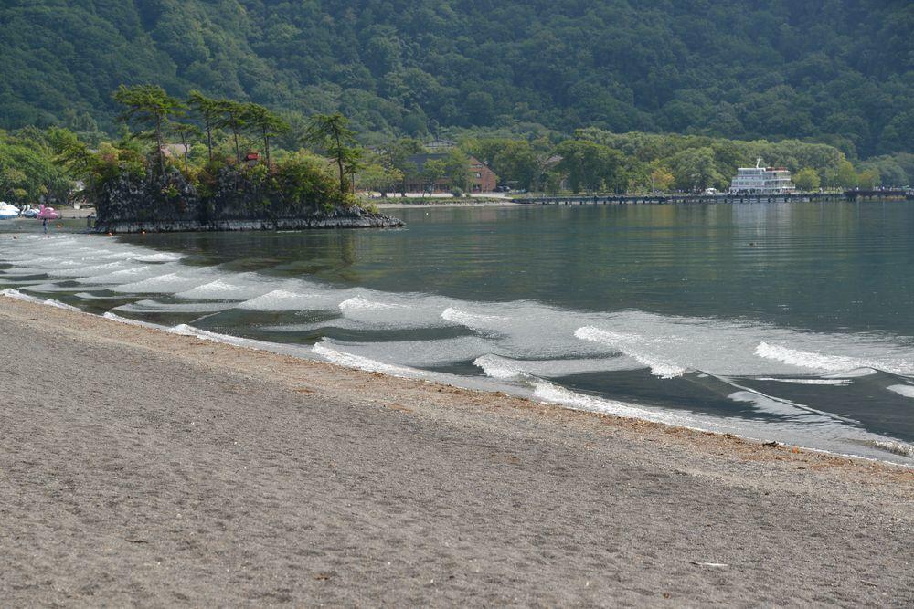 十和田湖 乙女の像-7
