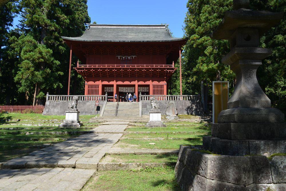 岩木山神社 参道-6