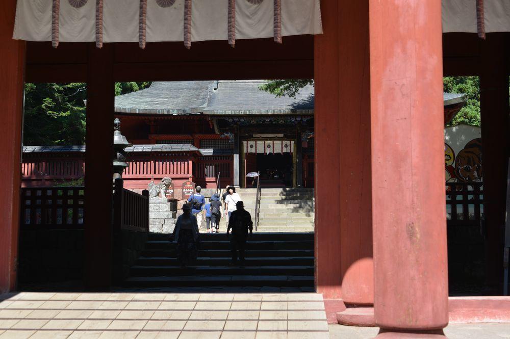 岩木山神社 拝殿-1