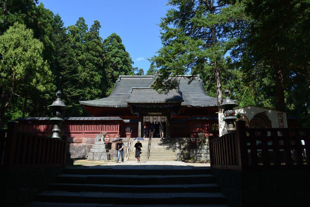 岩木山神社 拝殿-2