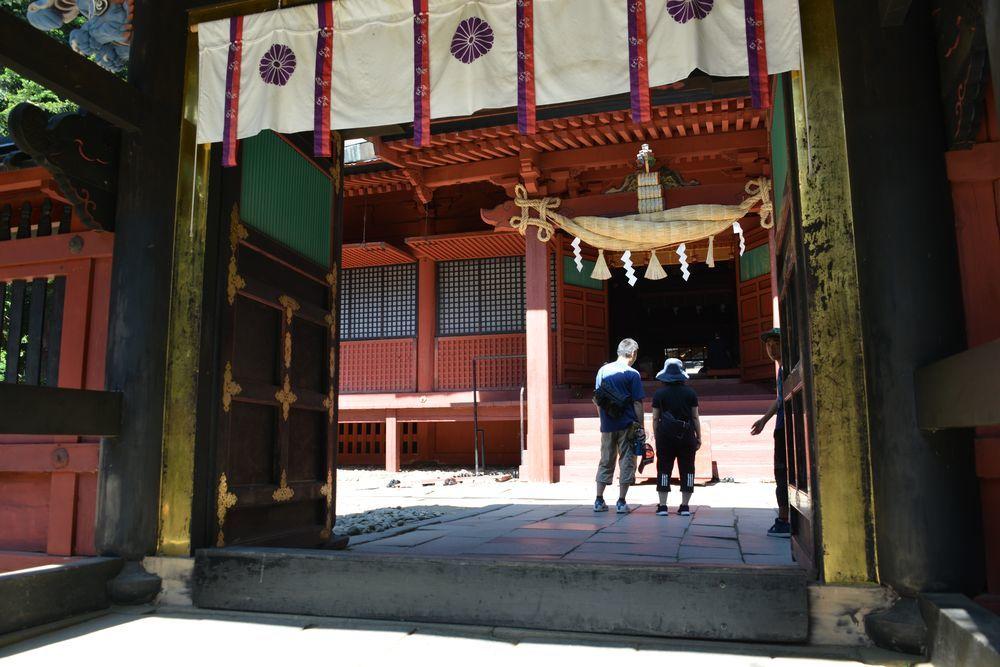 岩木山神社 拝殿-5