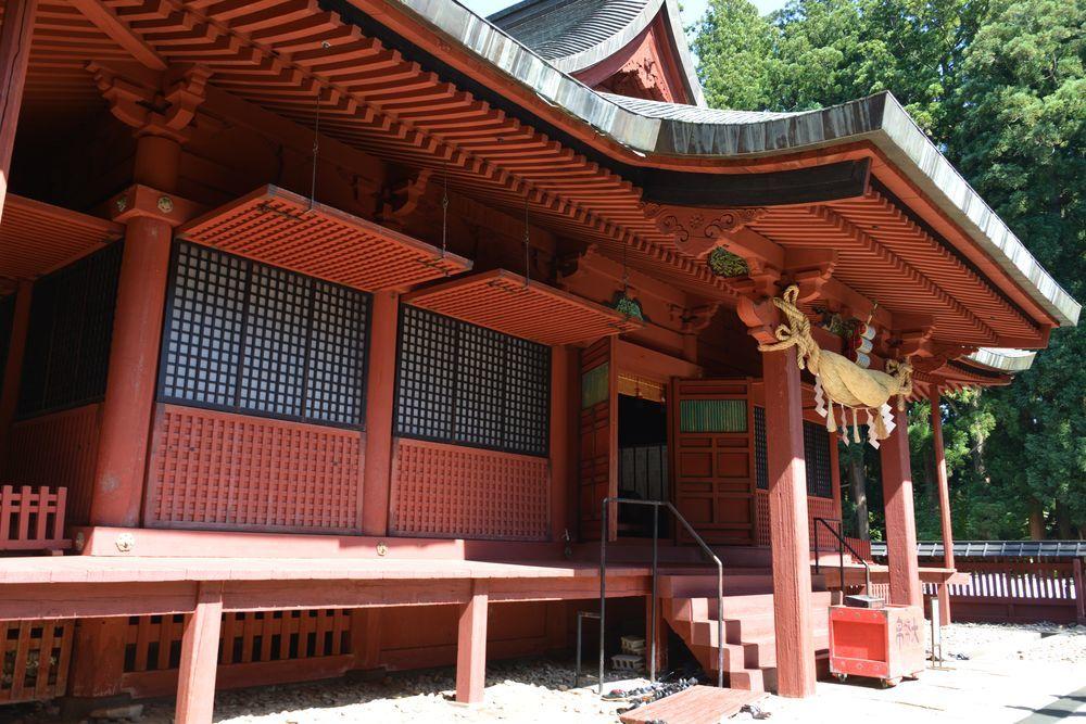 岩木山神社 拝殿-6