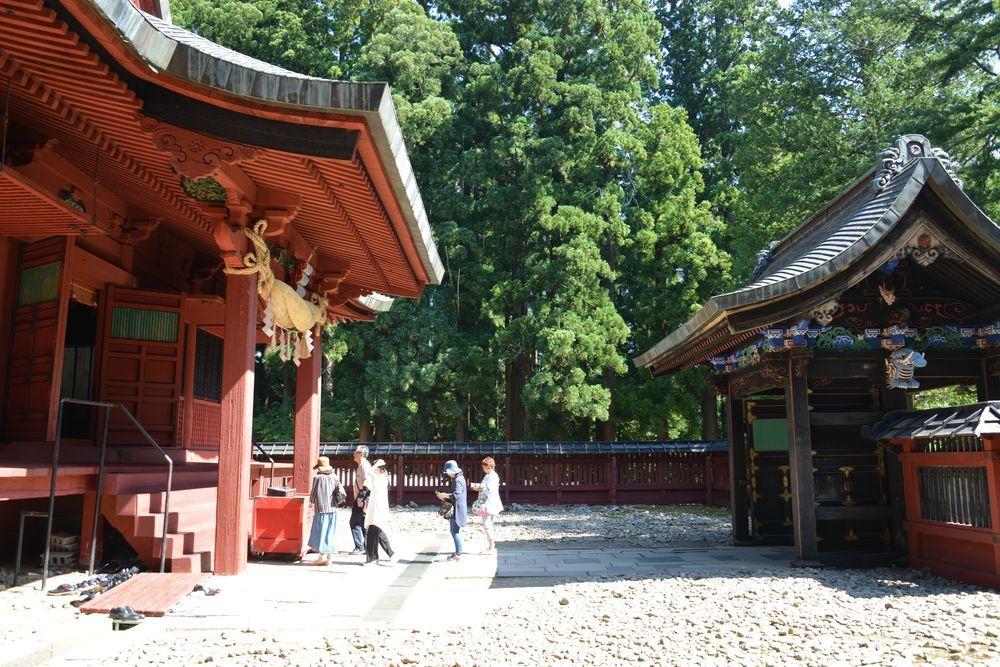 岩木山神社 拝殿-7