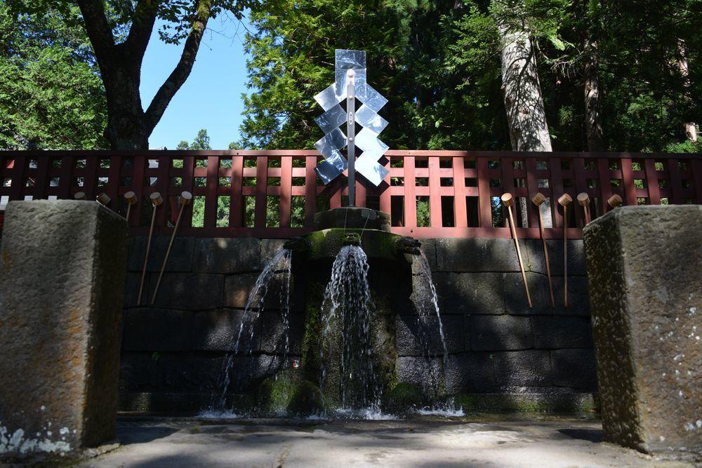 岩木山神社 手水舎-1