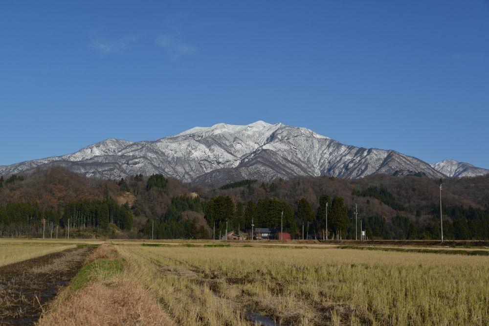 冬晴れ 粟ケ岳-4