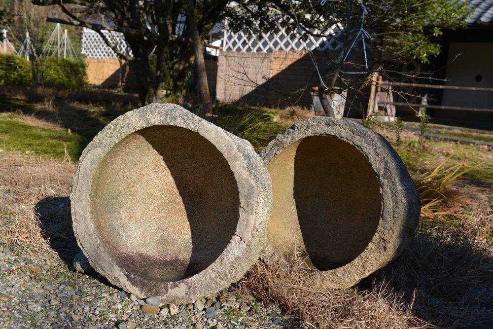 石置木羽葺屋根-4