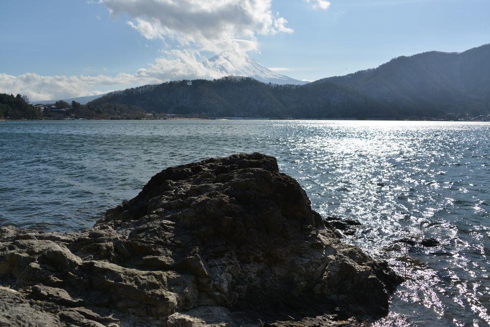 河口湖から-5