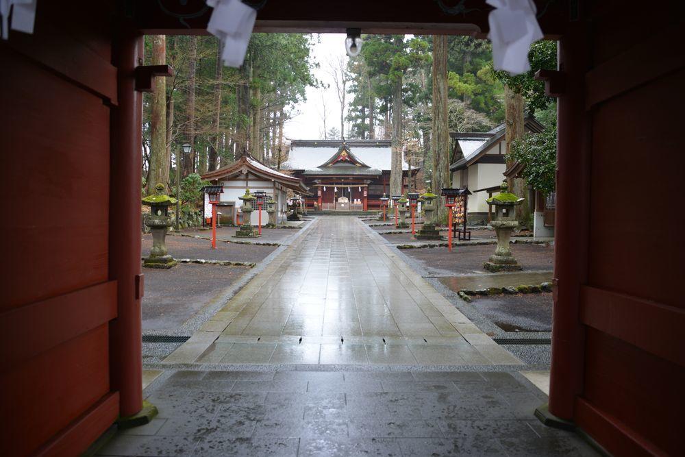 富士浅間神社 本殿-1