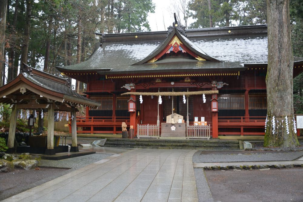 富士浅間神社 本殿-2