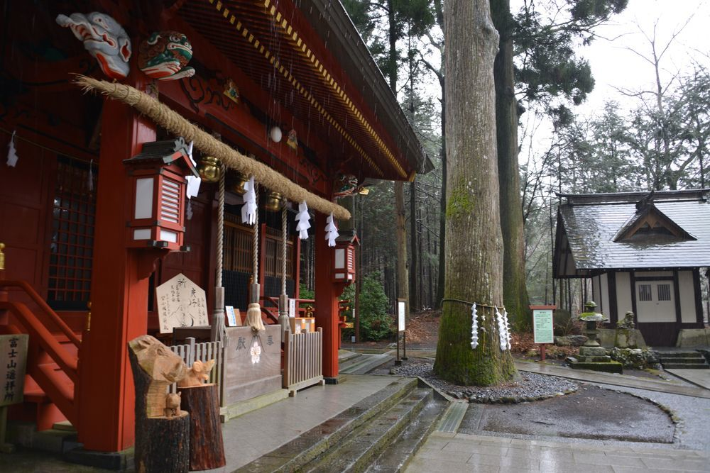 富士浅間神社 本殿-4