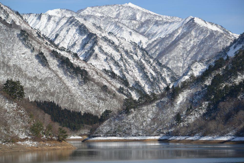 ダム湖-8