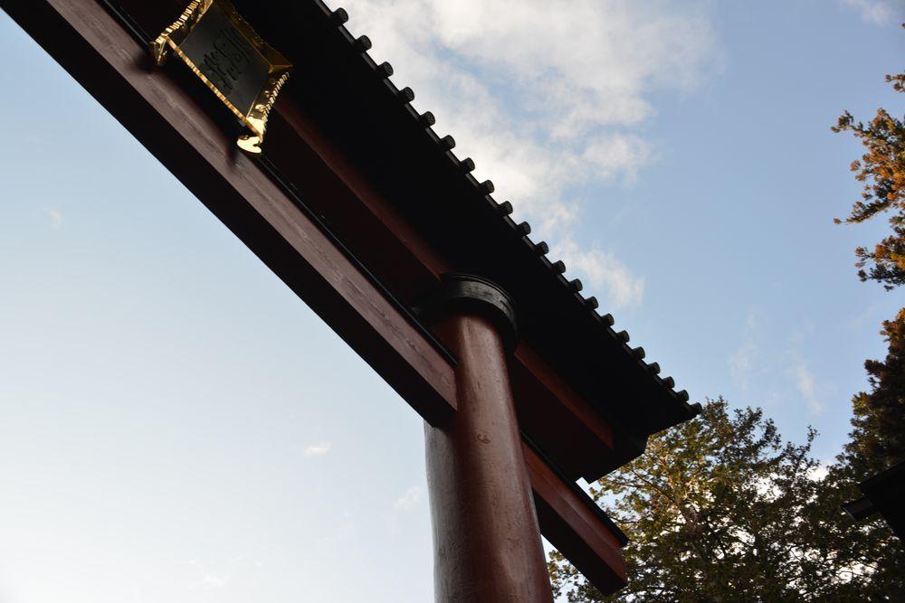 大鳥居と随神門-3