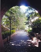 奥山線トンネル出口