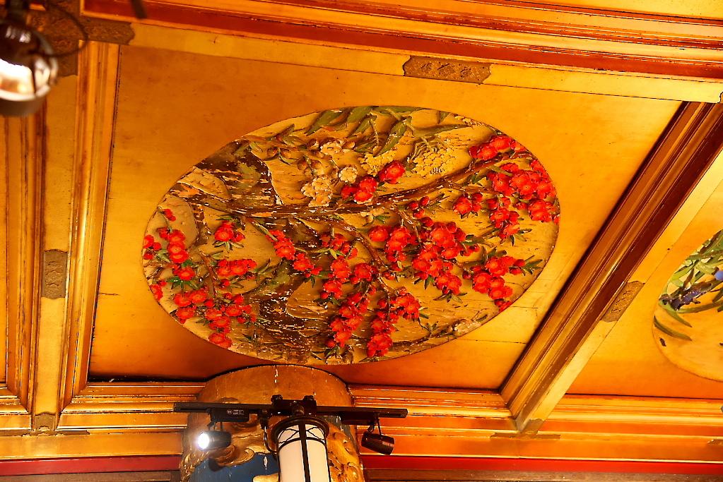 漁樵の間のオリジナルの装飾の様子_15