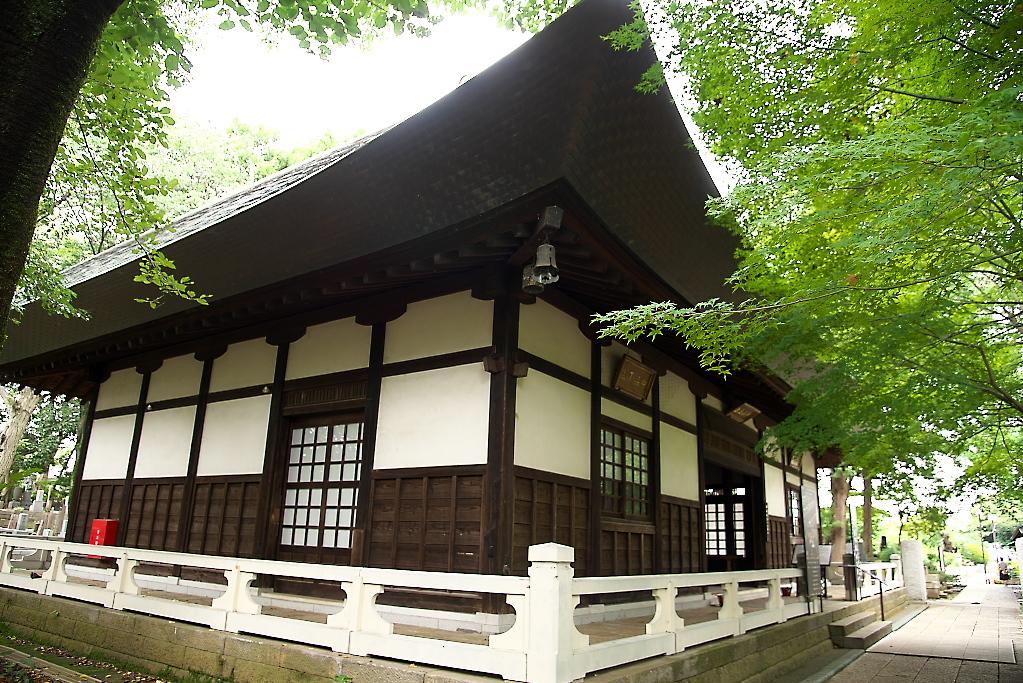 中品堂の建屋