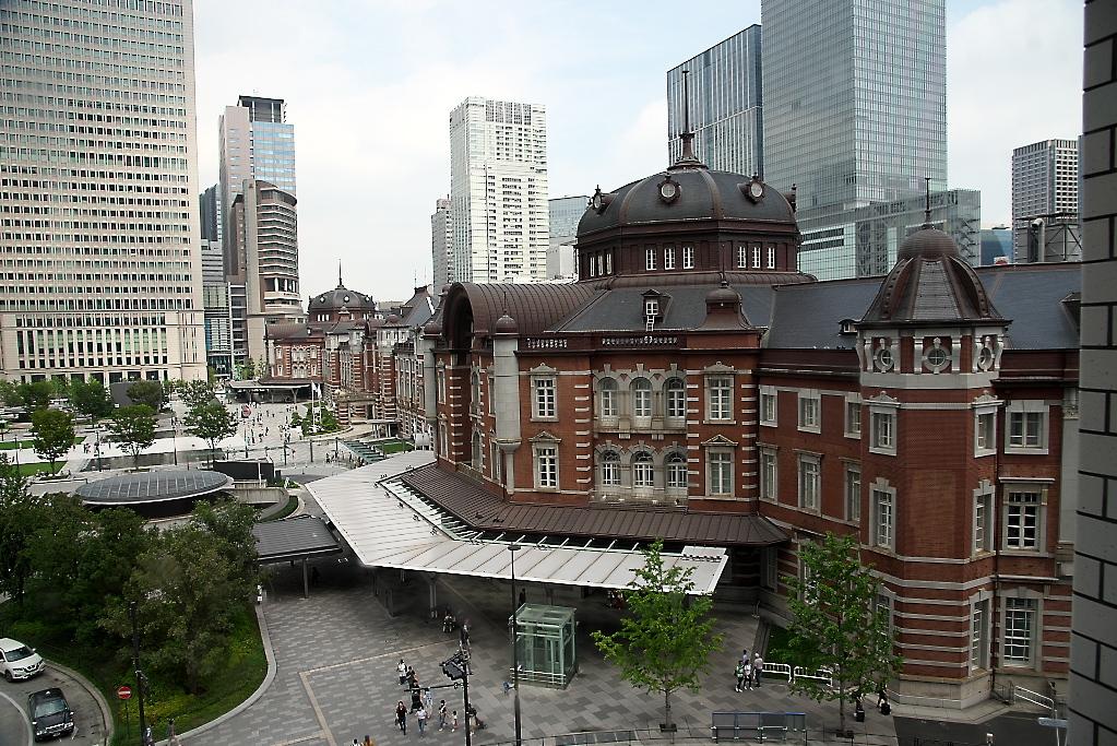 東京駅駅舎_KITTEから_3