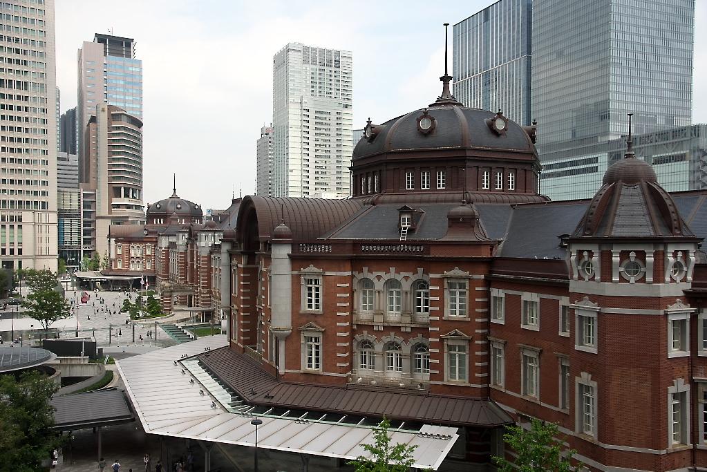 東京駅駅舎_KITTEから_4