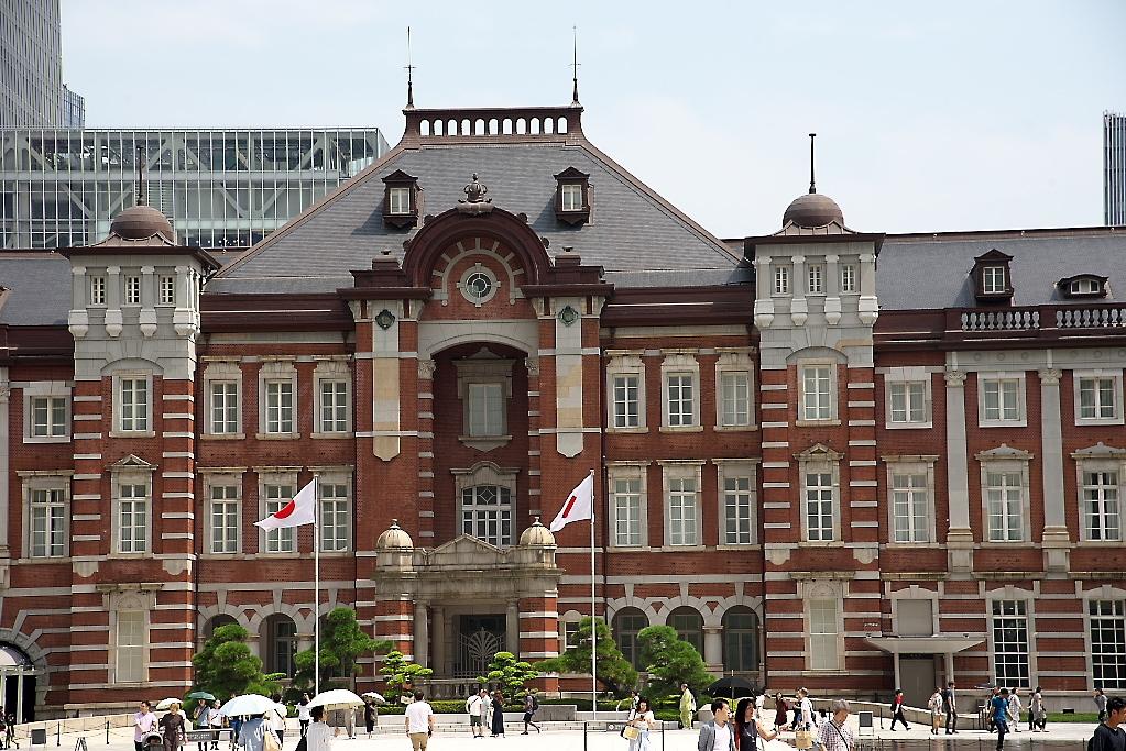 東京駅駅舎_少し離れた位置から_3