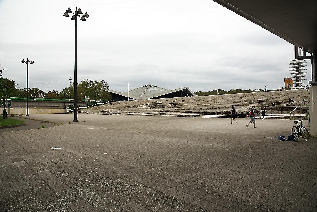 隣接する駒沢オリンピック公園に向かう_4